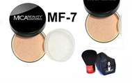 Mica Beauty 2x Mineral Foundation MF-7 Lady Godiva + Itay Premium Quality Kabuki Brush