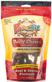 "Poochie ""Chew A Day Beef & Cheese Mini Knot"" - 7 Pack"
