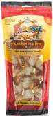 "Poochie Chicken On A Bone - 10 Pack ""MINI"" Bones - hvPet.com SPECIAL:  Buy 12 Bags Get One FREE! (Value of $12.99)"