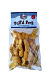 Poochie Pull'd Smoke Flavored Porkhide Chews -6 Mini Bones & 6 Micro Bones BOGO Buy One Bag Get One Bag FREE !
