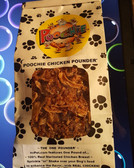 """ Poochie Chicken  Poundr'Third  of  More than a  Pound (1.33 lbs)  Bag of ""100% Marinated Chicken Breast Pieces to shake over your Bestie Dog Daily meals!!"