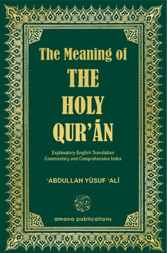 The Meaning of the Holy Qur'an (English)