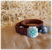 Angel Ranch Women's Belt and Buckle (in-store-only KC)