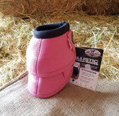 Professional's Choice Ballistic Overreach  Bell Boots for Horses, Pink, size Medium