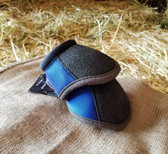 Cactus Ropes Dynamic Edge Bell Boots for horse, Royal Blue, Medium