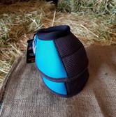 Cactus Ropes Relentless Strikeforce Bell Boots for horse,  blue, Med