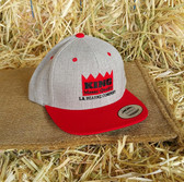 King Brand Ball Cap Twill With Red Accents (adjustable Back) Adult Size