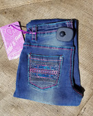 Cowgirl Hardware Youth Denim Jeans Med Wash Size 7 (Available in store only)