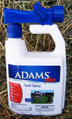 ADAMS Plus YARD SPRAY, 1 qt.