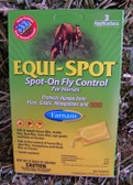 Equi-Spot, Spot On Fly Control For Horses, 3 Applications, 34 fl. oz.