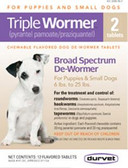Durvet Triple Dog Wormer, for small dogs,