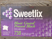 Sweetlix Bloat Guard Supplement #738, 33 lb