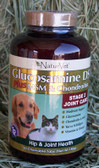 NaturVet Glucosamine DS Plus MSM & Chondroitin, Stage 2 Joint Care for Dogs & Cats, 60 Chewable Tabs