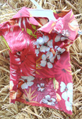 Canine BWW Red Floral Hawaiian Shirt, For Small Dogs