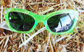 Blazin Roxx Little Girl's Fashion Sunglasses, Green with Bling