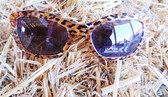 Blazin Roxx Little Girl's Fashion Sunglasses, Leopard with Bling