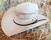 PBR Youth White Straw Cowboy Hat With Black Hat Band (In Store Only)