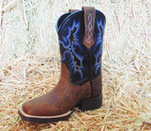 ARIAT Youth Boot, Black Navy and Brown, Shown in Size 9 (In Store Only)