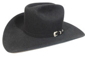 Resistol Men's Felt Hat, The Challenge, Black, 4 inch brim (Available In Store Only)