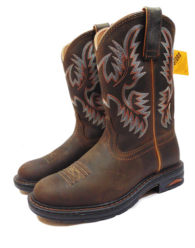 Ariat Women&39s Tracey Pull-On Roper Toe Dusted Brown Performance
