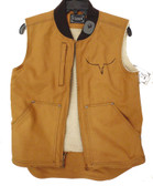 Cowboy Hardware Men's Fleece Lined Vest (In-Store-Only)
