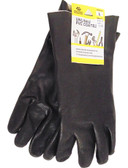 Red Steer Men's Unlined PVC Coated Gloves (Size Large)