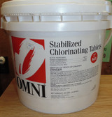 Omni (1 inch) Chlorinating Tablets for Swimming Pools, 30 lb.