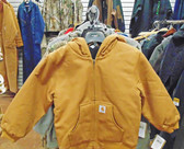 Carhartt Boys Hooded Jacket, Size Small (In-Store-Only)