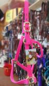 Big D Horse Halter Pink, Full Size Horse