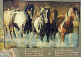 Rivers Edge Tempered Glass Cutting Board, Wild Horses (P)