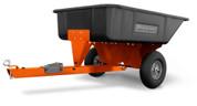 10 Cu.Ft. Poly Swivel Dump Cart