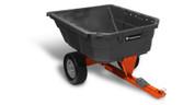 12 Cu. Ft. Poly Swivel Dump Cart