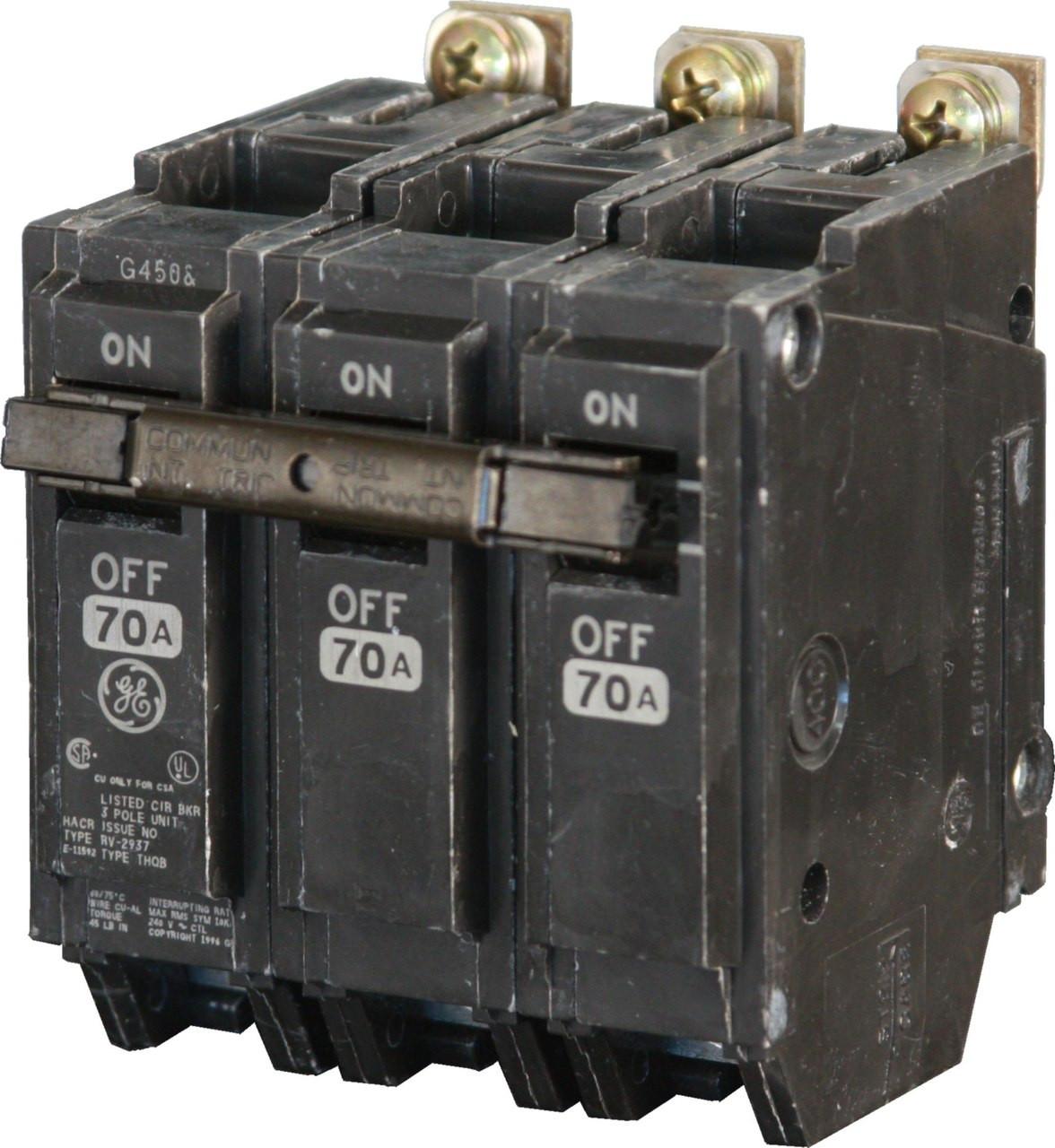 THQB32090 General Electric Panel board Bolt on lighting Circuit Breaker