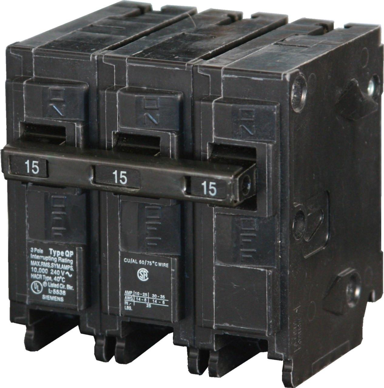 Q320 Siemens Lighting Plug in Circuit Breaker