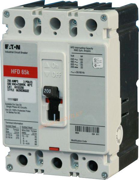 Eaton Cutler Hammer HFD3225 Circuit Breaker