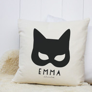 Personalised 'Catwoman' Cushion