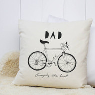 Personalised 'Hand Drawn Hobby' Cushion