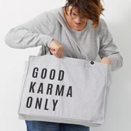 Personalised 'Good Karma Only' Bag