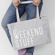 Personalised 'Weekend Stuff' Bag