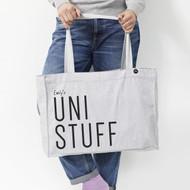 Personalised 'Uni Stuff' Bag