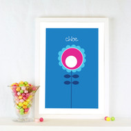 Personalised The Flower Poster