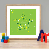 Personalised Star of Stars Poster