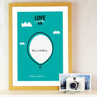 Personalised Love is in the air Poster