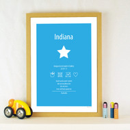 Personalised Washing Instructions 2 Poster