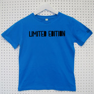 Personalised 'Limited Edition' Child's Organic Cotton T-shirt