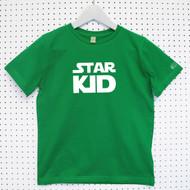 Personalised 'Star Kid' Child's Organic Cotton T-shirt