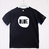 Personalised 'Dude' Child's Organic Cotton T-shirt