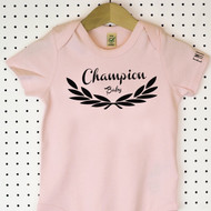 'Champion' Organic Cotton Babygrow or Jumpsuit