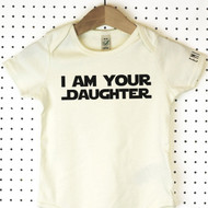'I Am Your' Star wars Organic Cotton Babygrow or Jumpsuit