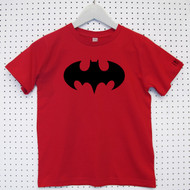 Personalised 'Batman' Child's Organic Cotton T-shirt